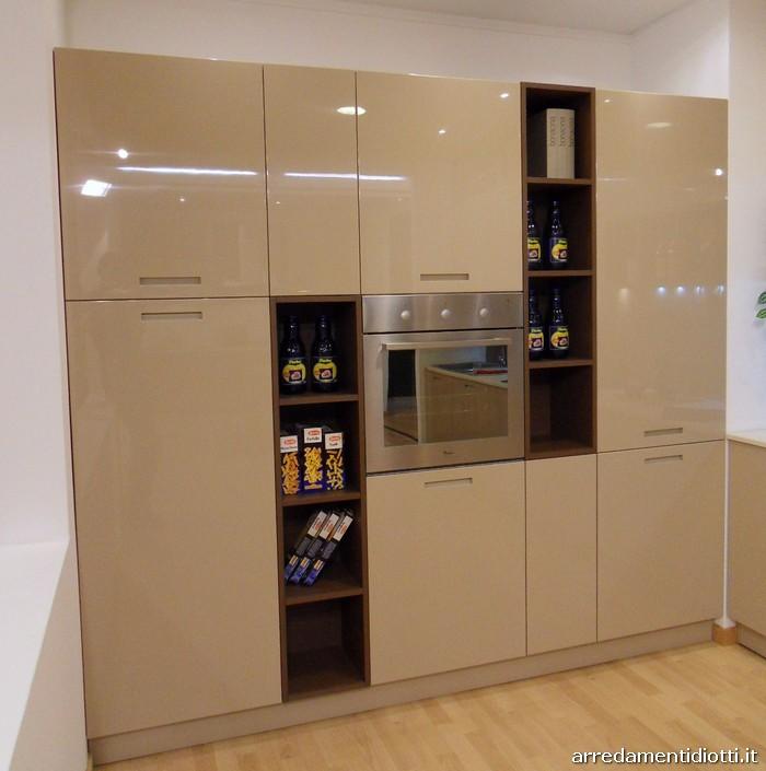 Cucina di design con pensili giorno Logica Link - DIOTTI A&F Arredamenti