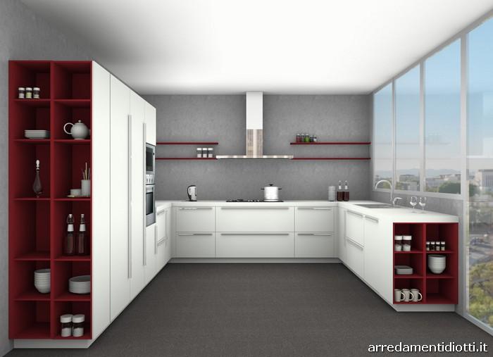 Best Cucine A Ferro Di Cavallo Photos - Amazing House Design ...
