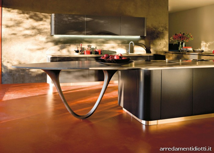 Ola 20 kitchen by Snaidero Kitchens and Pininfarina Design ...