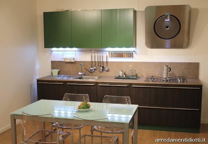 Colore Parete Cucina. Colori Pareti Il Verde In Cucina With Colore ...