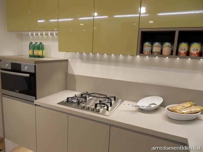 Cucina easy in polimerico diotti a f arredamenti for Diotti a f arredamenti