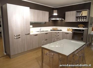 Cucina moderna angolare Grafica tranchè ghiro - DIOTTI A&F ...