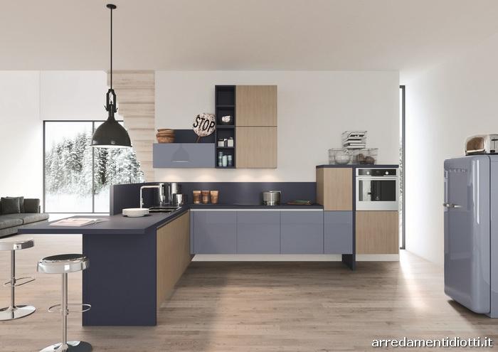 Cucine Moderne Noce Chiaro La Scelta Giusta Variata