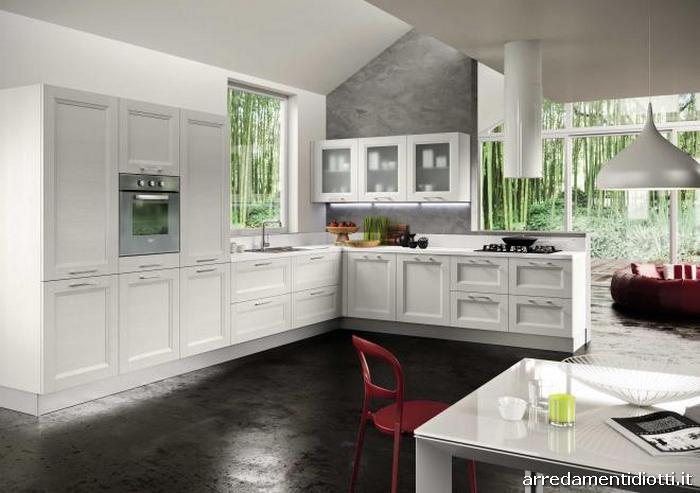 Cucina moderna abaco di snaidero diotti a f arredamenti - Cucina angolare moderna ...