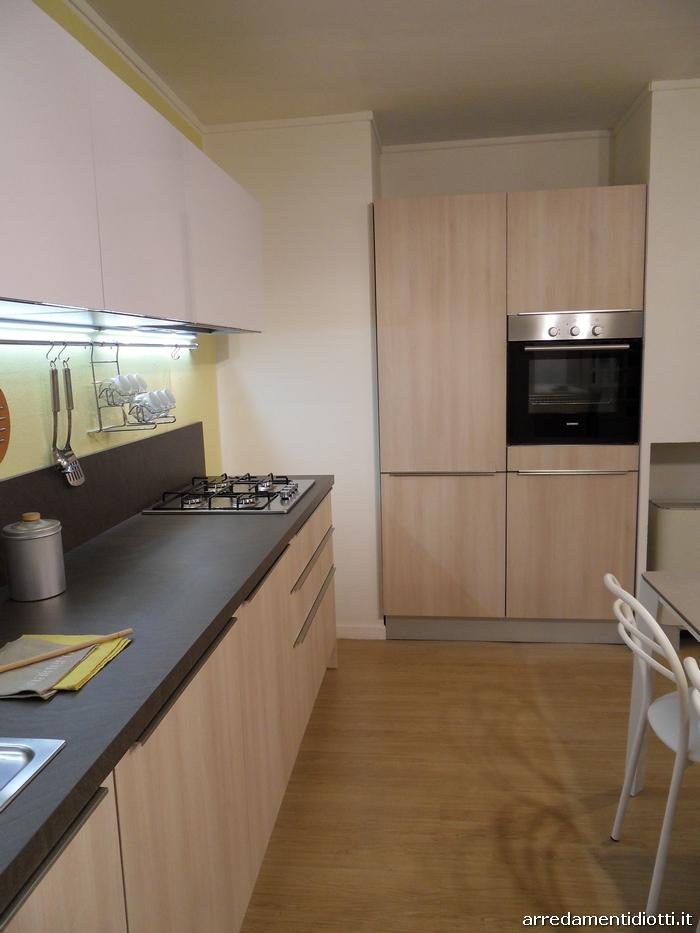 Cucina moderna abaco di snaidero in laminato con maniglia - Cucine snaidero outlet ...