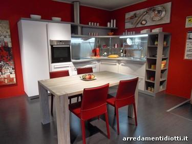 Cucina snaidero in prezzo affare con piani sagomati e - Cucine snaidero outlet ...