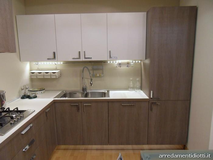 Cucine moderne piccole ad angolo cool modelli di cucine - Cucina a legna nordica milly ...