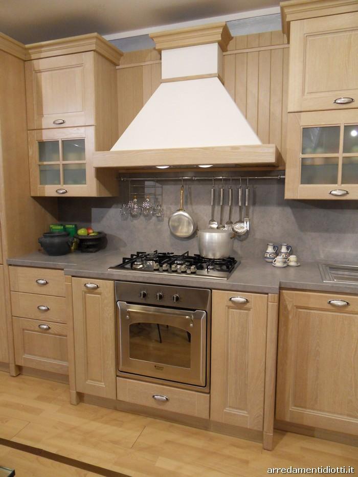 Cucina Ontario in Rovere Gessato - DIOTTI A&F Arredamenti