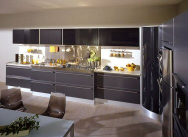 Cucine Con Dispensa. Great Cucine Con Angolo Awesome Cucine Con ...