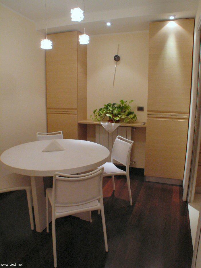Una cucina a milano diotti a f arredamenti for Cucina e sala insieme