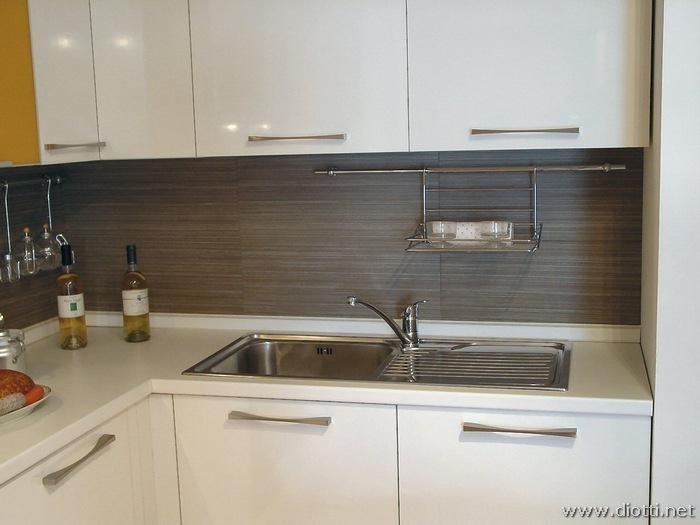 Dream cucina in laminato bianco lucido - DIOTTI A&F Arredamenti
