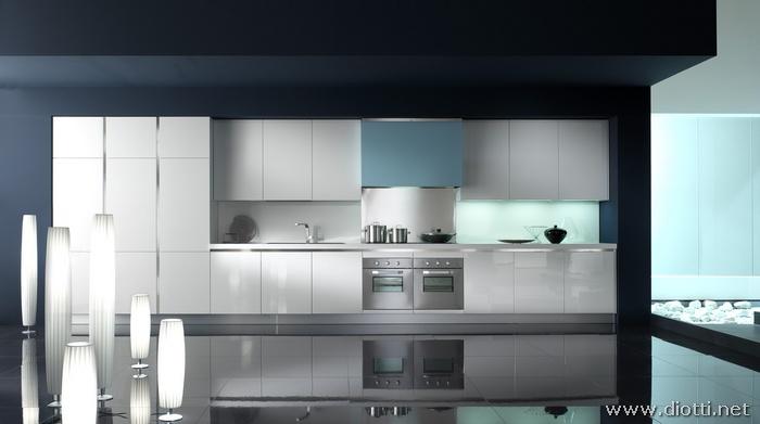 Cucine Moderne Bianche E Nero : Diotti a f arredamenti