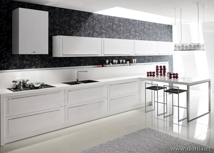 Beautiful Cucina Rovere Bianco Contemporary - Lepicentre.info ...
