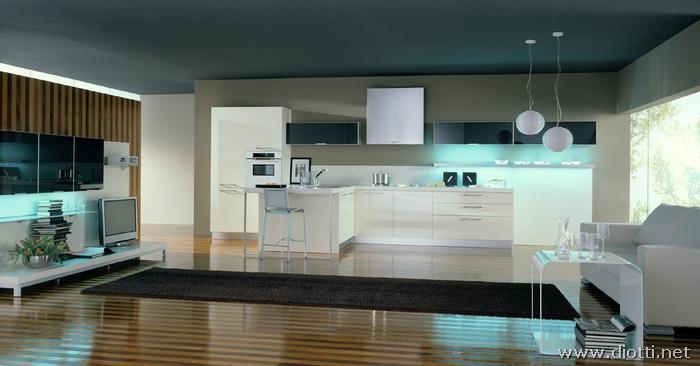 Diotti a f arredamenti - Cucine colorate moderne ...
