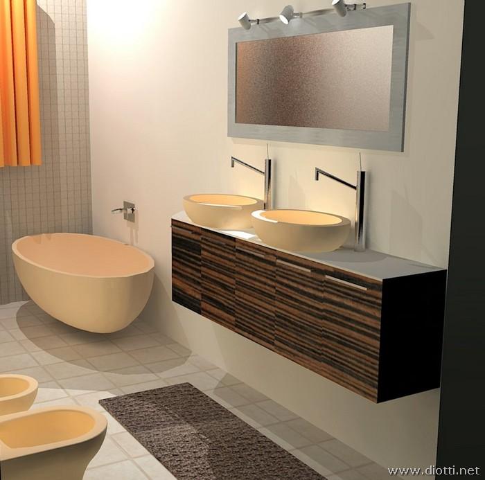 Interior design e progettazione arredamenti a vigevano diotti a f arredamenti - Bagno design srl curtarolo ...
