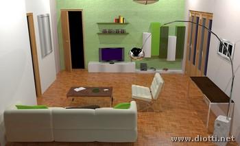 Arredamento interni interior design Monica Enrico Vigevano