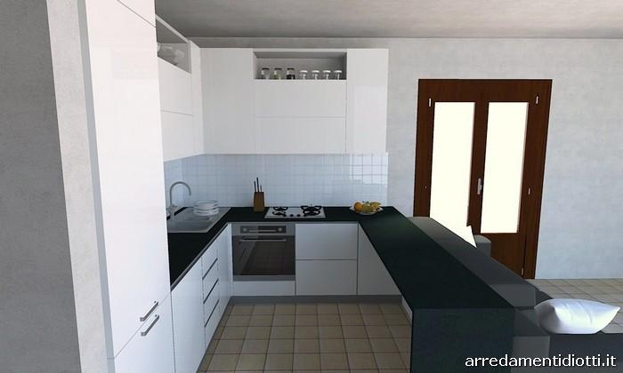 Compact kitchen - DIOTTI A&F Italian Furniture and Interior Design