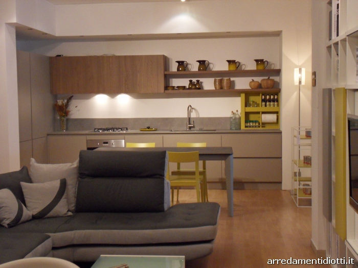 Arredamento open space diotti a f italian furniture and for Arredamento moderno salotto