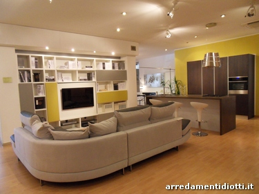 Stunning Arredamento Open Space Cucina Salone Contemporary ...