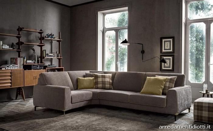 Vasta scelta riguardante i divani con piedini a vista for Divani biposto