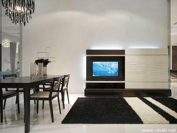 Moscow style diotti a f arredamenti - Mobile porta tv a scomparsa ...