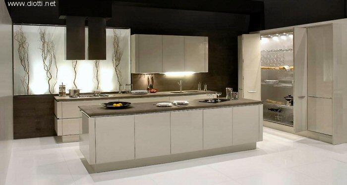 Idea 2000 cucina laccata lucida snaidero cucine design - Cucine buone ...