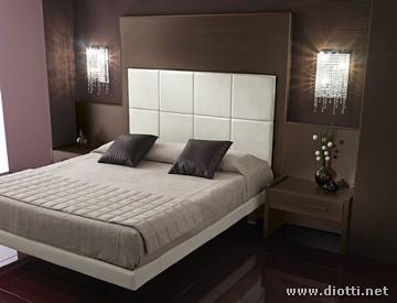 Letti per forniture contract diotti a f arredamenti - Testiere letto a cuscino ...