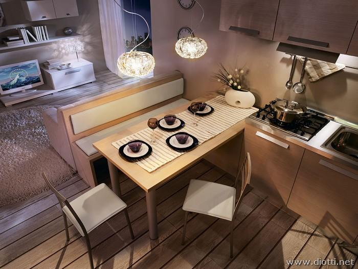 Arredo Soggiorno Moderno Dwg: Tavoli cucina dwg casa ...