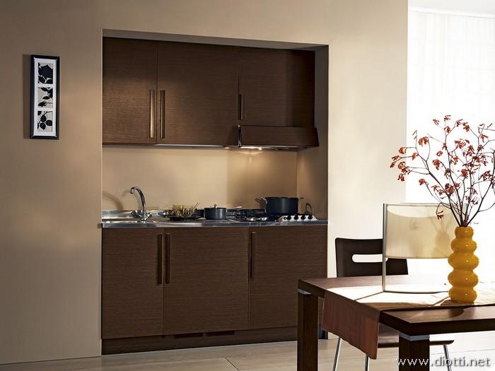 Cucina monoblocco diotti a f arredamenti - Cucina angolo cottura ...
