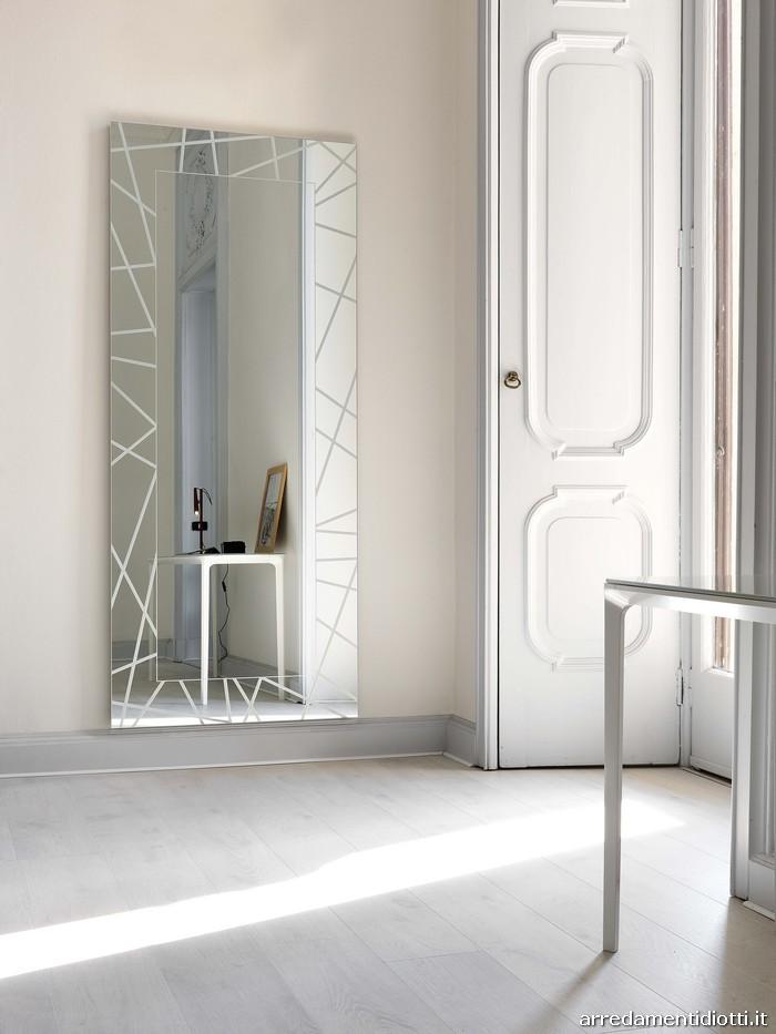 Specchi forme diverse diotti a f arredamenti - Specchio senza cornice ...