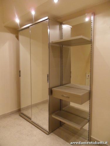 Mobili porta abiti per ingresso design casa creativa e - Porta specchio scorrevole ...