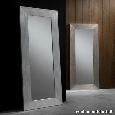 Specchiere rettangolari in legno diotti a f arredamenti - Specchiere camera da letto ...