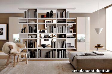 Libreria componibile Charlotte - DIOTTI A&F Arredamenti