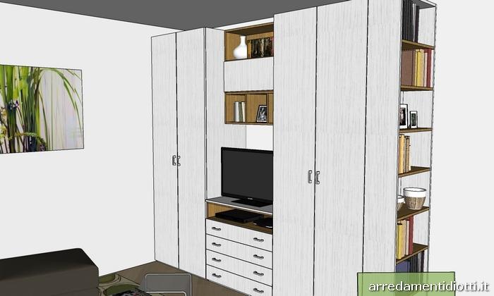 Monolocale arredamento casa completo one diotti a f - Arredamento casa completo ...