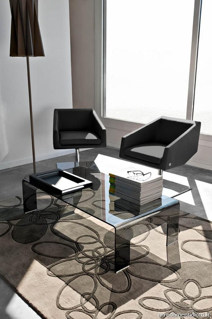 Tavolino Real rettangolare cm.120 p.65 h.33  Tavolino Real quadrato cm.90 p.90 h.33