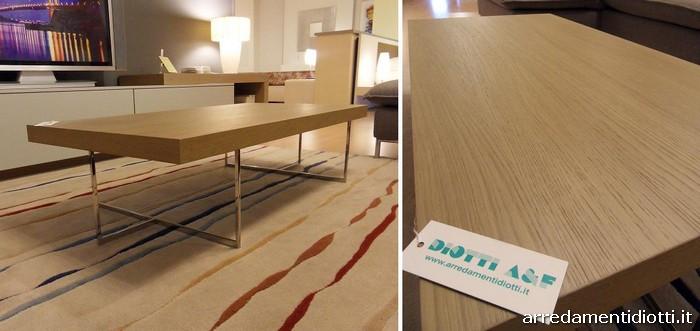 Tavolini moderni per soggiorno diotti a f arredamenti for Poltrone minimal
