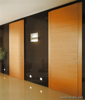 Clever wooden hinged doors natural oak