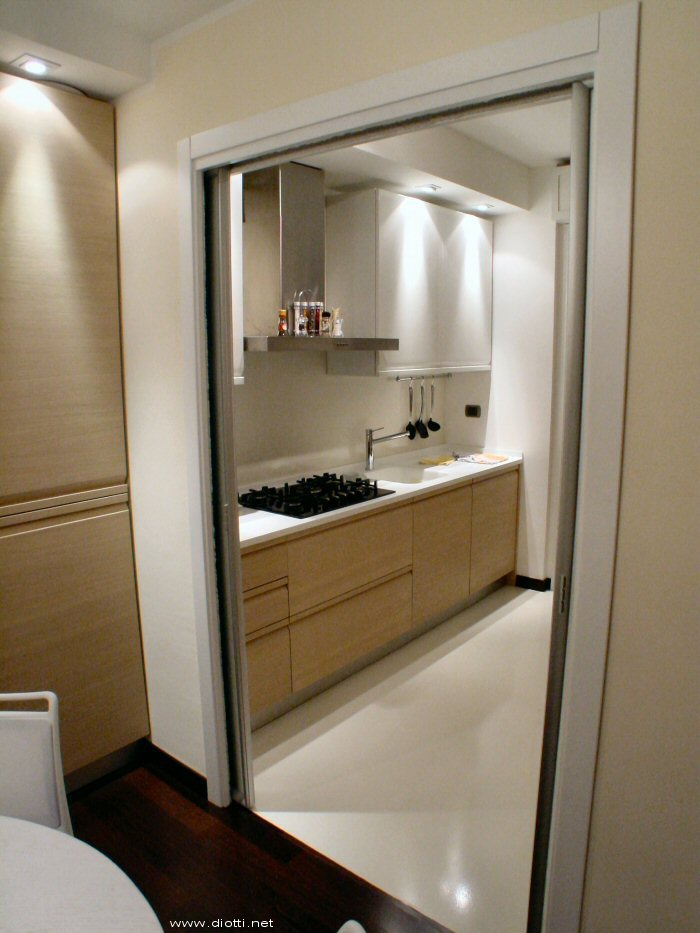 Porte scorrevoli a milano diotti a f arredamenti - Porte scorrevoli specchio ...