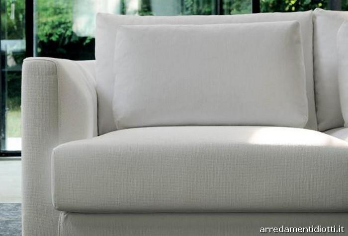 Divano roman con doppi cuscini di schienale diotti a f - Cuscini schienale divano ...