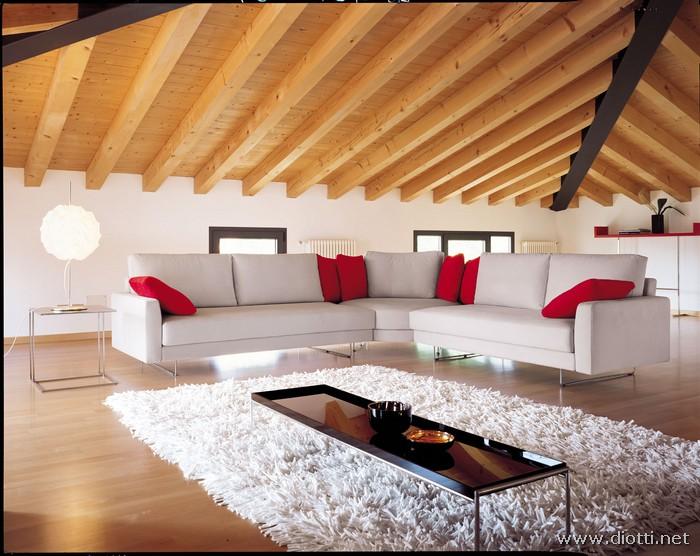 Arredamenti diotti a f il blog su mobili ed arredamento for Arredamento moderno ma caldo