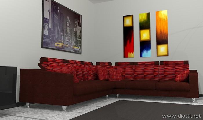 Divano Rosso E Nero : Gruppo sedie stile giapponese colori misti set divano divano rosso