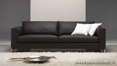 Milano divano schienale reversibile