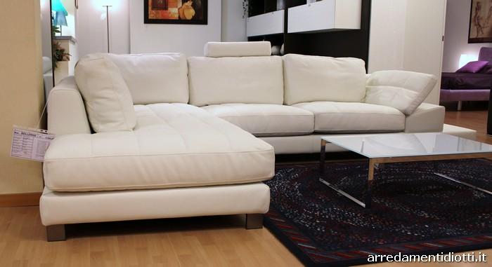Diotti a f arredamenti for Divano letto bianco