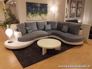 Divano Curvo Prezzo : Divano ad angolo curvo ellepi divani e poltrone divano