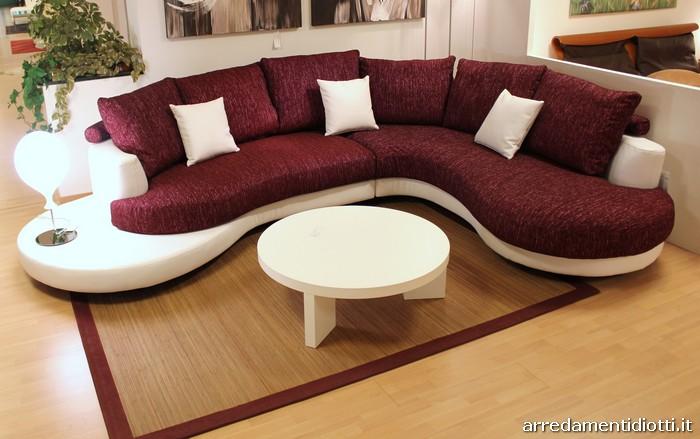 Divano componibile curvo idee per il design della casa - Divano componibile angolare ...