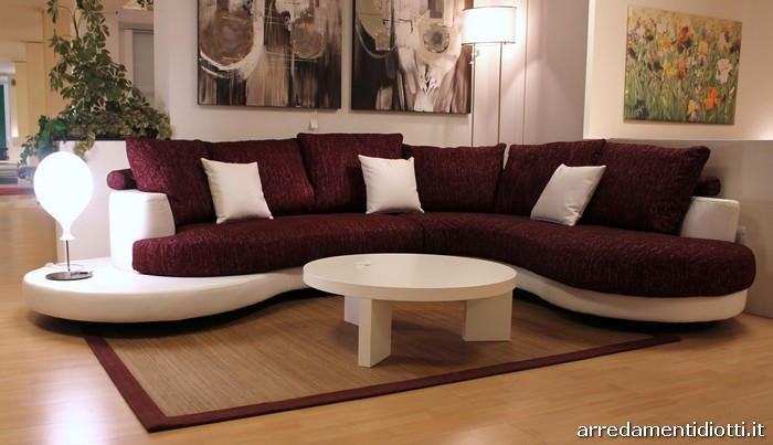 divano florida componibile curvo diotti a f arredamenti