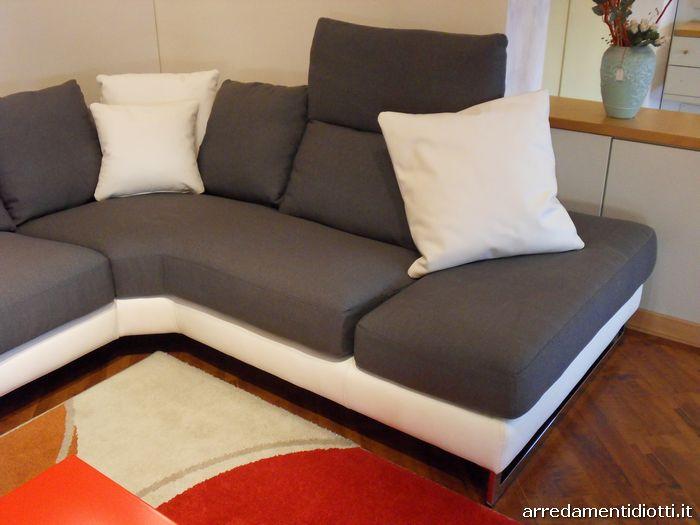 Divano componibile con sistema relax modello Atelier - DIOTTI A&F ...