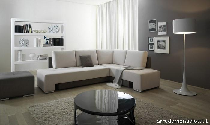 Divano letto trasformabile angolo modello pegaso diotti - Cerco divano letto ...