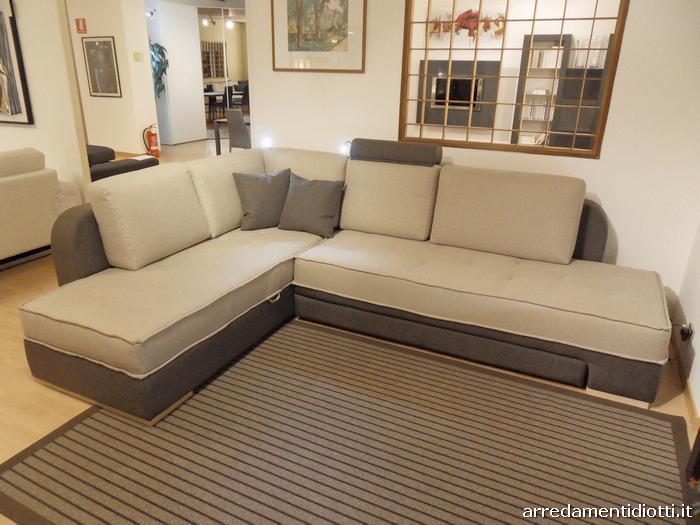 divano musa letto angolare con contenitore diotti a f