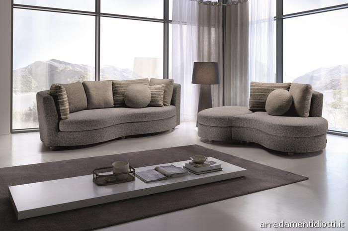 Divani Angolo Tondo ~ Idee per il design della casa